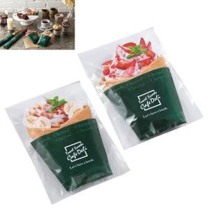 クレープ タオル CafeDeli タオルギフト 120個販売 タオルスイーツ プチギフト 販促品 景品|lucky-merci
