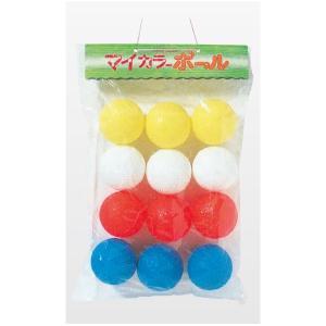 カラー 野球ボール ゴムボール 120個販売 野球 キャッチボール ワンちゃん 玩具|lucky-merci|02