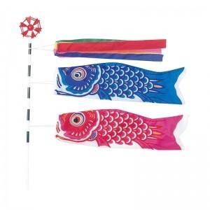 鯉のぼり こどもの日 ディスプレイ ミニ鯉のぼりセット 20...