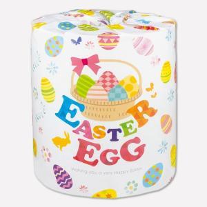 トイレットペーパー イースターエッグ 1R 1ケース 100個販売 復活祭の卵 春の神事 キリストの復活 ノベルティ ※商品代引不可|lucky-merci