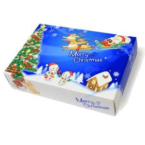 ティッシュペーパー ポストカード クリスマスティッシュ 25W 1ケース 100個 7068 Xマス サンタ クリスマス ツリー※代引不可|lucky-merci