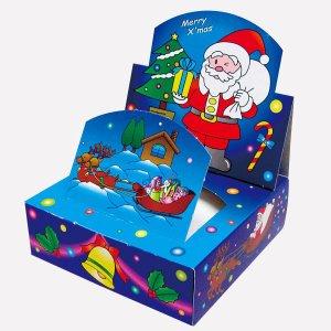 クリスマス ティッシュペーパー 遊ティッシュ 新クリスマス 20W 1ケース 100個 7080 Xマス サンタ クリスマス ツリー※代引不可|lucky-merci