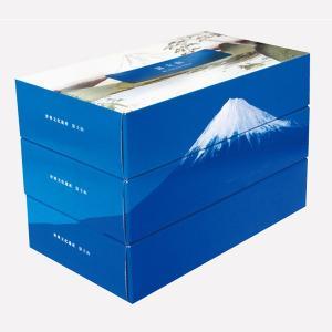 ティッシュペーパー 富士山 BOXティッシュ 150W 3パックセット 20個販売 7175 3箱合わせると富士山に ※商品代引不可|lucky-merci