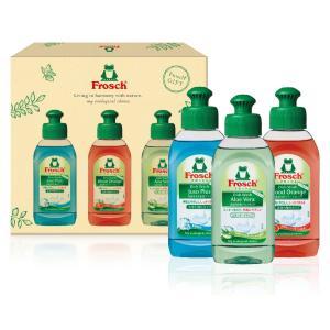 食器用洗剤  フロッシュセット 3種入 16個販売  まとめ割 ノベルティ 販促品|lucky-merci