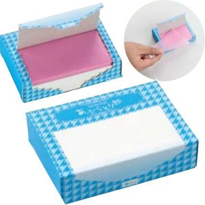 あぶらとり紙 250枚入 BOX 100個以上販売 油とり紙 脂とり 販促品 ノベルティ lucky-merci