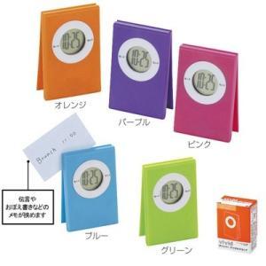 クリッパー デジタルクロック 1個162円(税抜)50個販売 まとめ割 ノベルティ 販促品・景品 ギフト 贈呈|lucky-merci