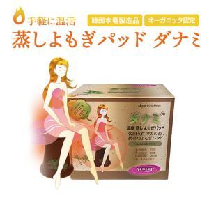 ポッキリ よもぎ蒸し パッド 10p ダナミ オーガニック ダイエット 冷房対策 商品 冷え対策 韓国 正規品 100%オーガニック 認定 箱なしDM便送料無料|lucky-shop