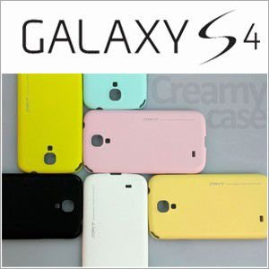 【送料無料・メール便】ギャラクシーs4 カバー ケース galaxy s4 ケース カバー (sc-04e) (Mifit Creamy Case) GALAXY S4|lucky-shop