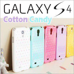 【送料無料・メール便】ギャラクシーs4 カバー ケース galaxy s4 (Cotton Candy) Galaxy s 4 ケース カバー|lucky-shop