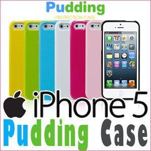 ワンコイン/iPhone5/5s/アイフォン5 カバー/アイフォン5 ケース/ Pudding ケース/スマホケース/カバー/メール便|lucky-shop