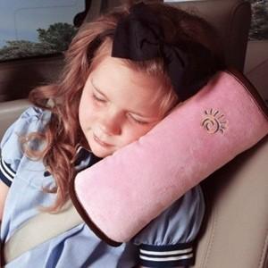 アメリカで大流行品/こどもの長時間ドライブに最適 子供用 安全 車 枕/カー マクラ/子供の安全・安...