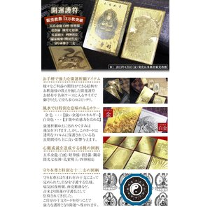 【ゆうパケット送料無料】開運ゴールドカード 護...の詳細画像1