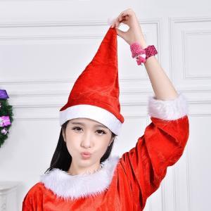 サンタクロース帽子 サンタ帽子 サンタハット サンタコスプレ コスチューム クリスマス a020|lucky9