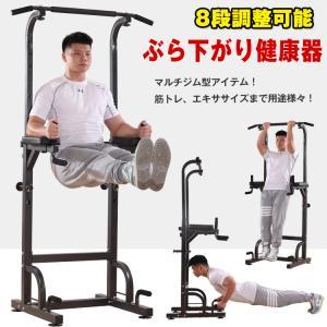ぶら下がり健康器 懸垂 筋トレ トレーニング クッション付き マルチジム 懸垂マシン トレーニング 腹筋 腕立て 背筋 フィットネス de025|lucky9