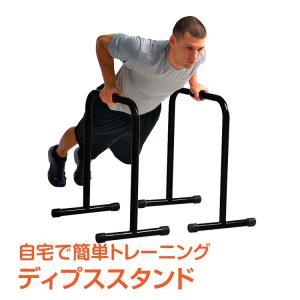 ディプススタンド 筋トレ 筋力トレーニング 腕立て腹筋 背筋 自宅 ジム トレーニング パンプアップ de075 lucky9