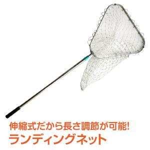 ランディングネット 釣り 網 たも網 伸縮可能 最大284cm ロングサイズ 折りたたみ 海 川 湖 池 コンパクト od305|lucky9