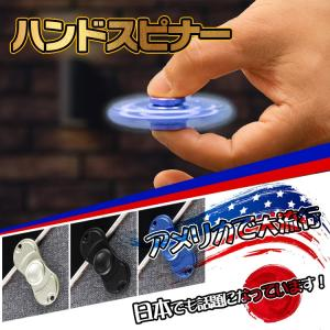 ハンドスピナー フィンガースピナー アメリカ ストレス解消 フィジェット hand spinner 回転 pa041|lucky9