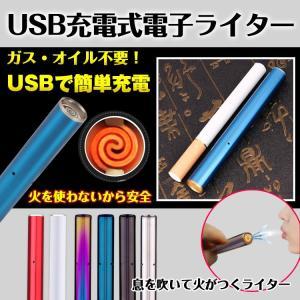 電子ライター usb スティック 点火 電熱 充電式 熱線ライター ライター タバコ たばこ 喫煙具 rt007|lucky9