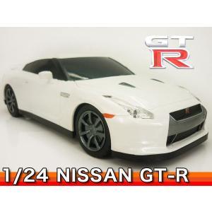 GTR ニッサン 日産 1/24スケール ラジコン RASTAR ###ニッサン35200白###|luckycraft-sp