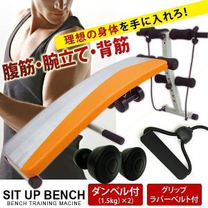シットアップベンチ トレーニングマシン 本格的 ダイエット 腹筋 背筋 強化 ダンベル スーパーマルチ ###ベンチAND-6455☆###|luckycraft-sp