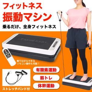 振動マシン ダイエット フィットネス エクササイズ 有酸素運動 ###振動マシンT10###|luckycraft-sp