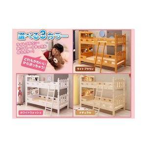 二段ベッド 2段ベッド 宮付き アリエス3 (モニカ-MONICA- HR-053/ポールハンガープレゼント)-ART 宮付き LED照明付き 耐震 すのこ 子供部屋 木製 安全|luckykagu|02