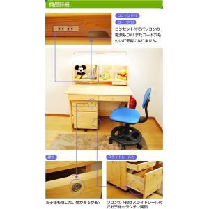 学習机 勉強机 学習デスク ヒット 3点セット(T型LEDデスクライト+椅子付き)-KW-733-ART 2015|luckykagu|03