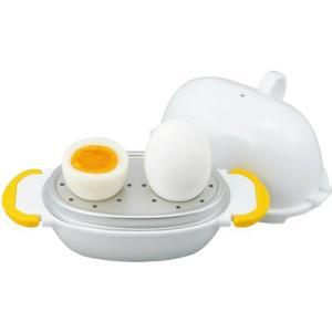 曙産業 レンジでらくチン!ゆでたまご2個用 RE-277 (日本製・電子レンジ対応・ゆで卵・AKEB...