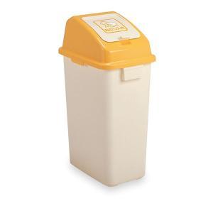 おむつペールボックス/オムツ用ゴミ箱 〔45L〕 容量:約42L 内蓋付き 消臭剤カバー付き 袋止め...
