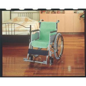 ケアメデイックス 車いすクッション 車椅子シートカバー(防水)2枚入グリーン 44020