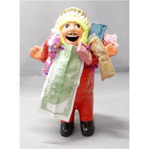 【商品名】 【エケコ人形18cm】ミックス色 エケコ人形 18cm タイプ1 顔にホリのあるタイプの...