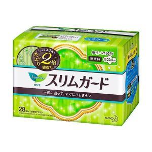(まとめ) 花王 ロリエ スリムガード しっかり昼用 羽つき 1パック(28個) 〔×30セット〕 luckytail