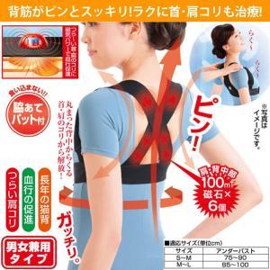 送料無料 磁気治療器 メディカル肩甲骨ベルト ぴ〜んdeこりとる LHM-009 ludas
