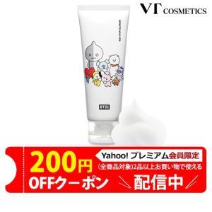 韓国コスメ VT X BTS BT21 公式商品 リッチ ホイップ クレンザー 洗顔料 BTSコスメ