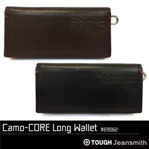 タフ 長財布 TOUGH Camo-CORE カモコア レザー 本革ロングウォレット 内側カモフラージュ柄 69062 luggagemarket