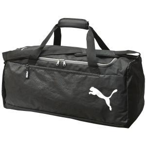 プーマ ボストンバッグ 57L Puma ファンダメンタルス スポーツバッグ M ダッフルバッグ トラベルボストン 旅行バッグ ショルダーベルト付 075528|luggagemarket