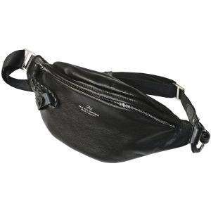 ピーアイディー ウエストポーチ 本革 P.I.D Nemus ネムス レザー ウエストバッグ ボディバッグ ゼブー牛ナッパ使用 PAQ202|luggagemarket