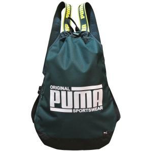 プーマ ナップサック 巾着バッグ 18L Puma ソール  スマートバッグ  ドローコード開閉 リュックベルト調節可 ポケット付き 075818|luggagemarket