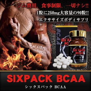 SIXPACK BCAA シックスパック 筋肉増加 筋トレ 筋肉増強剤 サプリメント