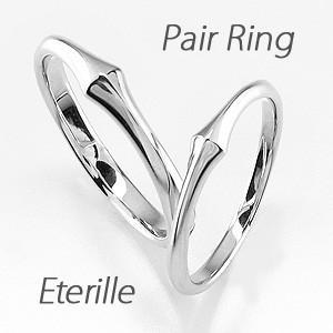 ペアリング プラチナ 900 ダイヤモンド 指輪 マリッジリング 結婚指輪 細身 luire-jewelry