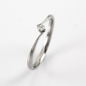 ダイヤモンド リング 一粒 指輪 プラチナ 900 ダイヤリング luire-jewelry