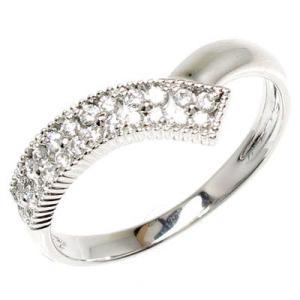 リング リング 天然ダイヤモンド k18ホワイトゴールド フラワー 花 指輪 luire-jewelry