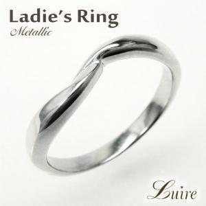 リング 10金 捻り 地金 シンプルリング 結婚指輪 マリッジリング K10ゴールド 指輪  k10WG/YG/PG|luire-jewelry