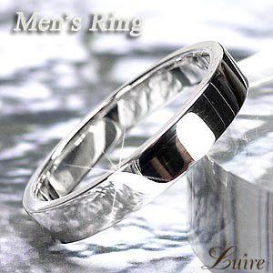 リング メンズリング シンプル 結婚指輪 SV925 シルバー マリッジリング 甲丸指輪|luire-jewelry