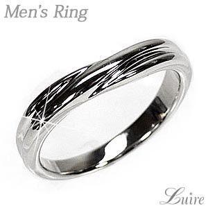 リング メンズリング シンプル 結婚指輪 マリッジリング Pt900プラチナ V字 指輪|luire-jewelry