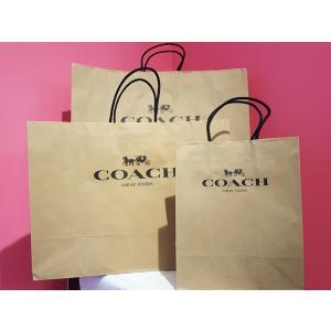 a2cf3663471e コーチ COACH 紙袋 ペーパーバッグ 小物 財布 長財布 バッグ ギフト用 アウトレット