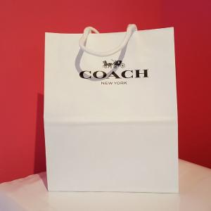 2f9f95a24ec9 購入者様限定】プレゼントに!コーチ COACH 紙袋 ペーパーバッグ 小物 ...