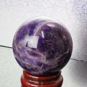 アメジスト 丸玉 水晶玉 amethyst 紫水晶 原石 天然石【64mm】