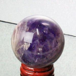 アメジスト 丸玉 水晶玉 amethyst 紫水晶 原石 天然石【44mm】
