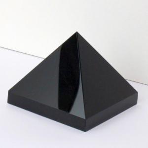 オニキス ピラミッド 原石 クラスター 黒縞瑪瑙 Pyramid 一点物